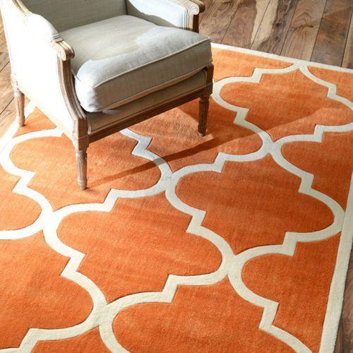 mc home okazja dywan marokaaska koniczyna orangewhitetrend151x239cm improvements ottawa