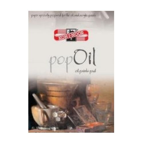 Blok do farb olejnych popoil a4 10ark 250g od producenta Koh-i-noor
