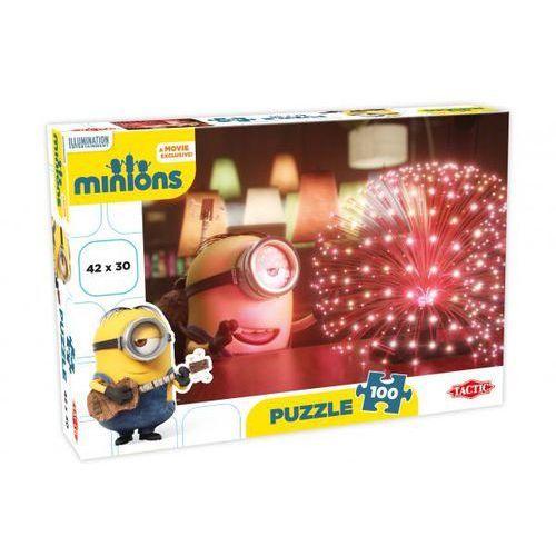 Minionki. audience. czerwona. puzzle, 100 elementów marki Tactic