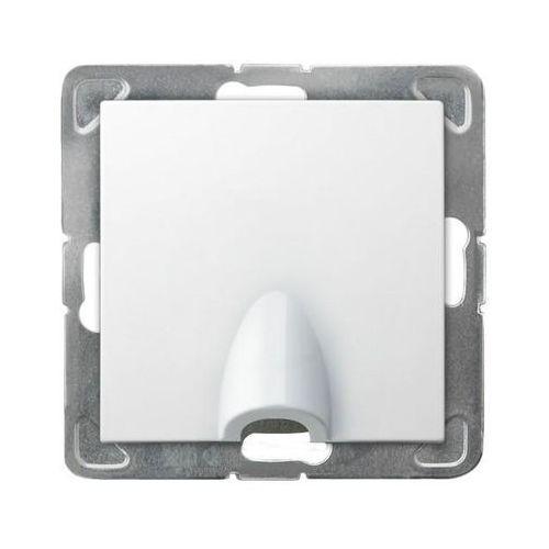 Ospel impresja gppk-1y/m/00 przyłącz kablowy biały