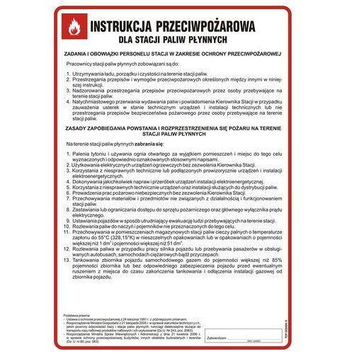 Top design Instrukcja przeciwpożarowa dla stacji paliw płynnych