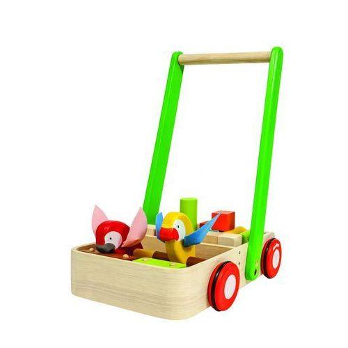 Plan toys drewniany chodzik z ptaszkami