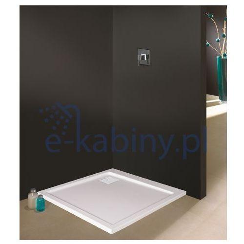 brodzik prostokątny space line b/space 90x100x3 90x100x3cm marki Sanplast