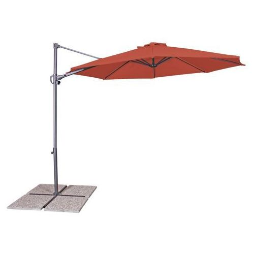 Parasol ogrodowy derby by ravenna light terracota 432232931 marki Doppler