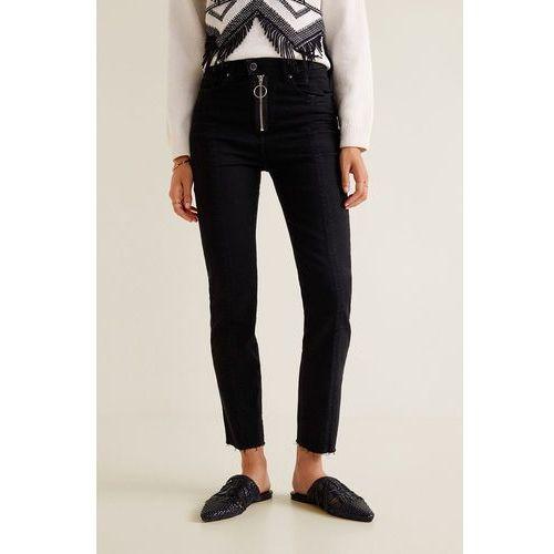 Mango - jeansy zipper