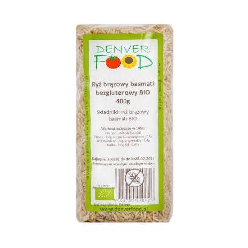 Denver food Ryż brązowy basmati bezglutenowy bio 400g - (5904730450126)