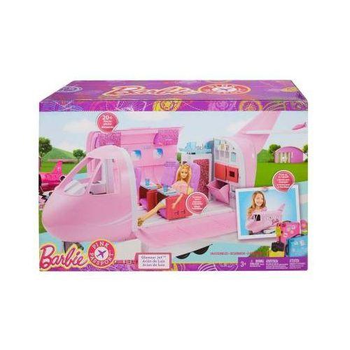 Barbie Luksusowy Samolot Odrzutowiec Duzy DMR53