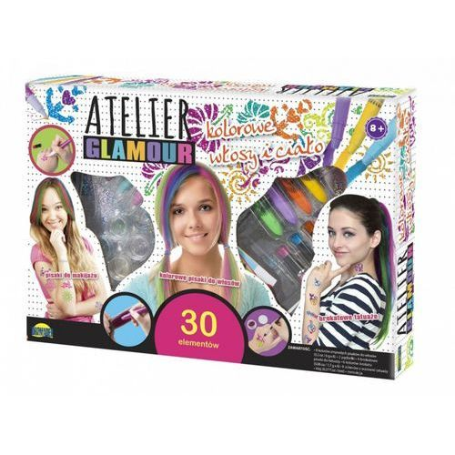 Atelier Glamour Kolorowe włosy i ciało, 5_570406