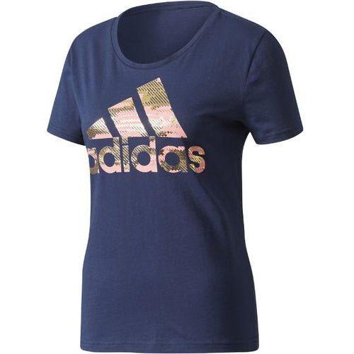 Koszulka adidas Essentials Foil Badge CD1954, kolor wielokolorowy