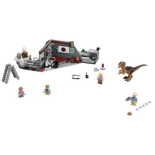 OKAZJA - 75932 POŚCIG RAPTORÓW (Jurassic Park Velocitaptor chase) - KLOCKI LEGO JURASSIC WORLD