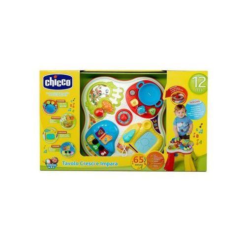 Chicco Stolik edukacyjny hobby PL/EN, 00007653000130