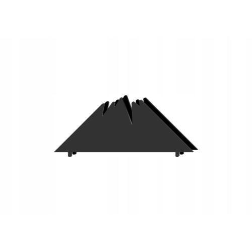 Serwetnik metalowy góry r1/14cm