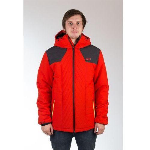 kurtka FOX - Completion Flame Red + NAKRČNÍK ZDARMA (122) rozmiar: XL, kolor czerwony