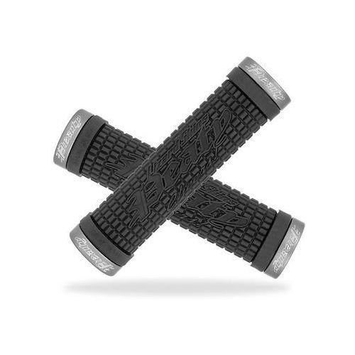 Lizard skins Lzs-lopds100 chwyty kierownicy peaty lock on 30x130 mm czarne klamry grafitowe