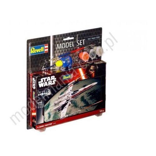 Star wars - model set x-wing fighter (z farbami)  63601 marki Revell