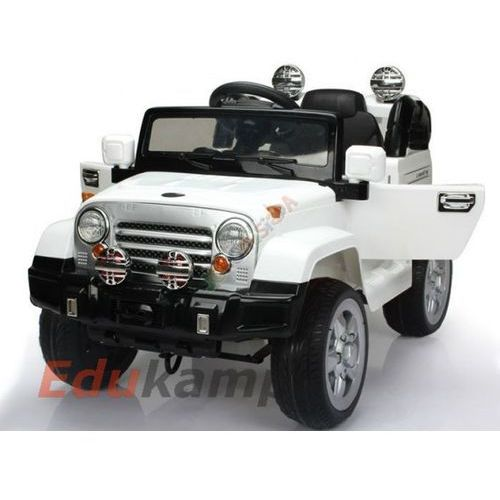 Joko Auto na akumulator jeep 2x35w gumowe koła! + gratis!