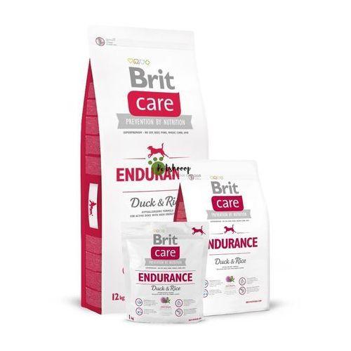 Brit Care Endurance Duck & Rice - Sucha Hipoalergiczna Karma Dla Aktywnych Psów Kaczka i Ryż 3 kg