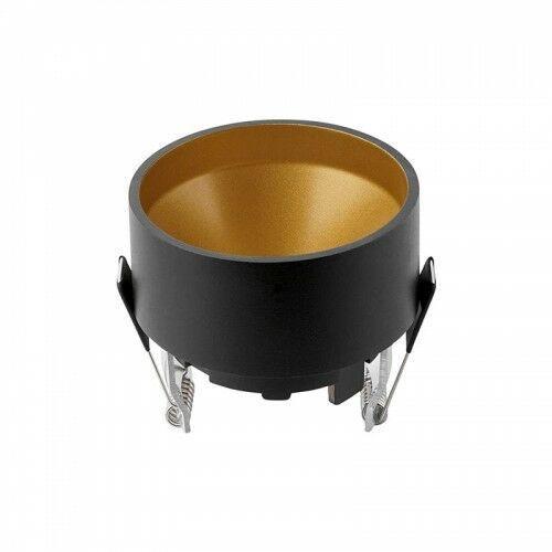 CROSTI LAPILO Czarno-złota GU10 IP20 Home&Decor Oprawa wpuszczana OXYLED 456764, 456764