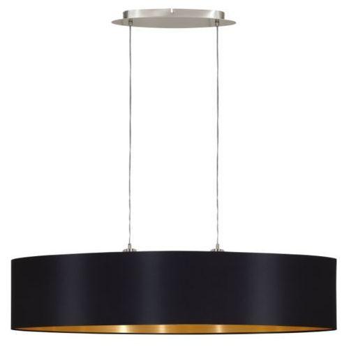 Eglo Lampa wisząca maserlo czarna 100 cm, 31616