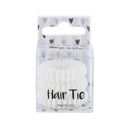 2k hair tie gumka do włosów 3 szt dla kobiet white