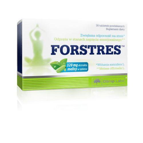forstres kapsułki na stress napięcie nerwowe - zmęczenie znużenie 30kaps marki Olimp