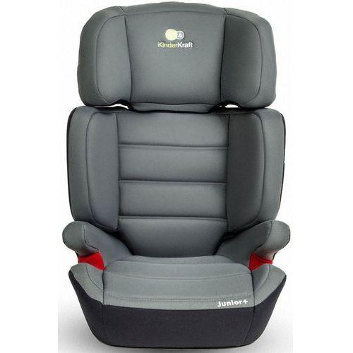 Kinderkraft Fotelik samochodowy junior plus szary + zamów z dostawą jutro! + darmowy transport!