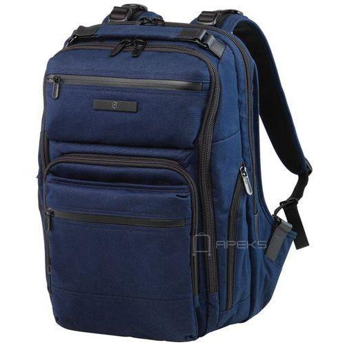 "Victorinox Architecture Urban Rath Slim Backpack plecak na laptop 17"" - granatowy"
