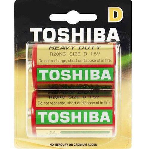 Baterie cynkowo-węglowe Toshiba R20KG BP-2TGTE SS- natychmiastowa wysyłka, ponad 4000 punktów odbioru!