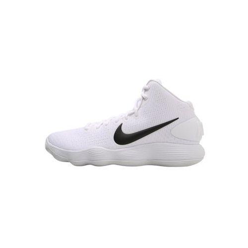 Nike Performance HYPERDUNK 2017 Obuwie do koszykówki white/black/pure platinum/wolf grey, 897808