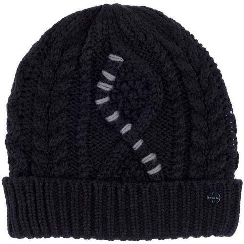 Bench Czapka zimowa - cable knit beanie black beauty (bk11179) rozmiar: os