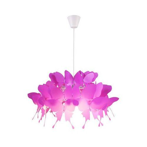 Farfalla 1 wisząca ciemny róż, LP-3439/1P dark pink