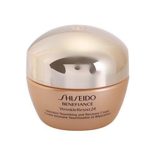 Shiseido Benefiance WrinkleResist24 krem intensywnie odżywiający przeciw zmarszczkom (Intensive Nourishing and Recovery Cream) 50 ml