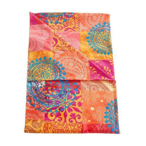 Bonprix Narzuta z patchworkowym nadrukiem kolorowy