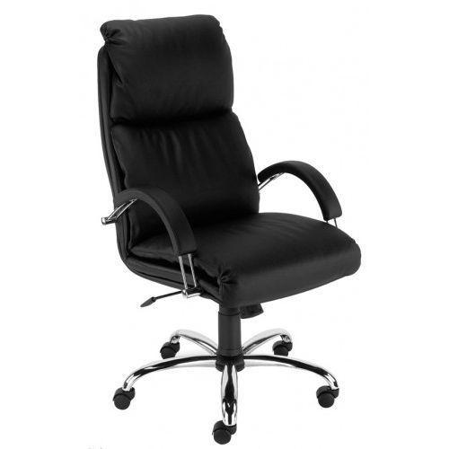 Fotel gabinetowy NADIR steel02 chrome - biurowy, krzesło obrotowe, biurowe