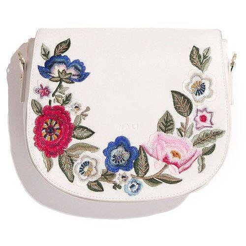 Nalí torebka damska biała, kolor biały