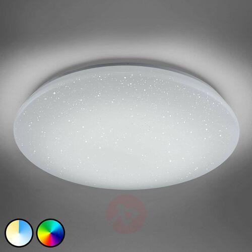 Lampa Sufitowa Trio Leuchten WiZ CHARLY LED Biały, 1-punktowy, Zdalne sterowanie, Zmieniacz kolorów - Nowoczesny - Obszar wewnętrzny - CHARLY - Czas dostawy: od 3-6 dni roboczych (4017807389845)