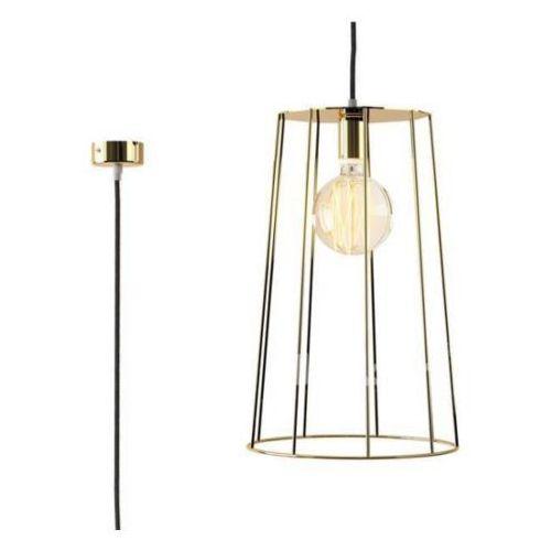 lampa wisząca BEJA D1 przewód żelazko, czarny mat ŻARÓWKA LED GRATIS!, CLEONI 1327D1J1116