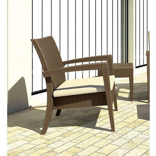 Siesta rattan Fotel ogrodowy miami lounge