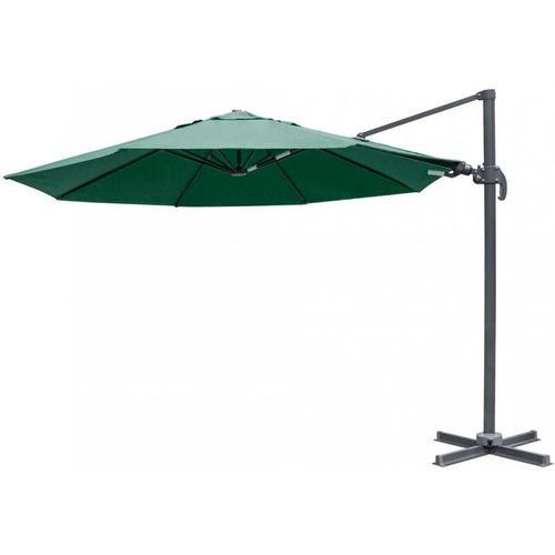 MAKERS parasol ogrodowy boczny Verona 3,5 m, ciemnozielony (8594173120594)