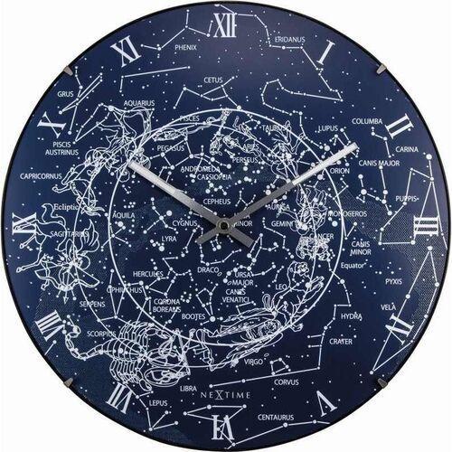 Zegar ścienny 3165 Milky Way Dome śr. 35cm Nextime