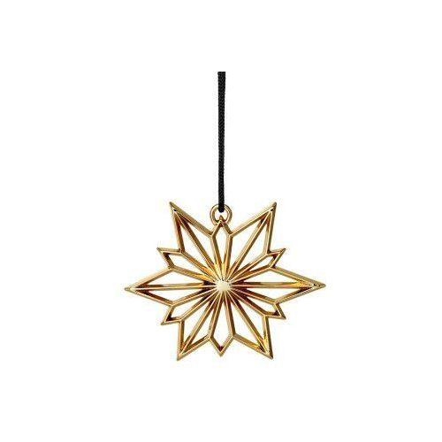 Ozdoba świąteczna gwiazda północy Karen Blixen, złoty - Rosendahl (5709513324928)