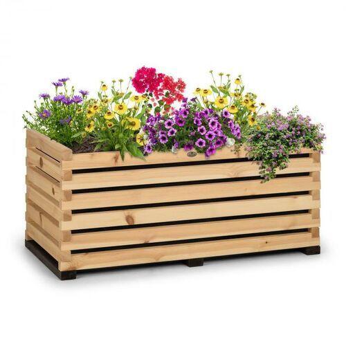 Blumfeldt modu grow 100, grządka podwyższona, 100 x 45 x 50 cm, drewno sosnowe, barwa naturalna