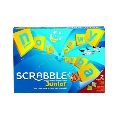 gra scrabble junior - darmowa dostawa od 199 zł!!! marki Mattel