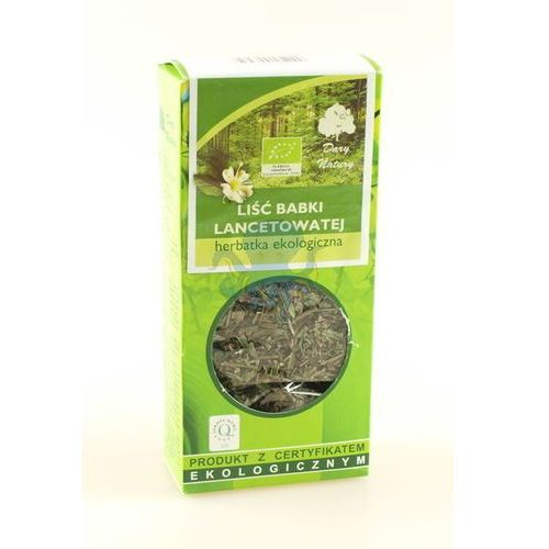 OKAZJA - Dary natury Babka lancetowata liść eko 50g - (5902741003959)