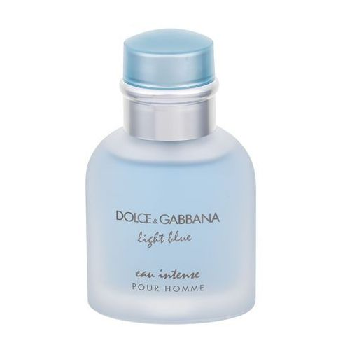 light blue eau intense pour homme woda perfumowana 50 ml dla mężczyzn marki Dolce&gabbana