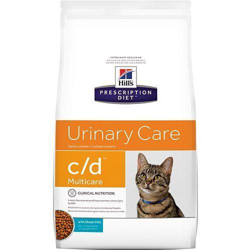 HILL'S PD Prescription Diet Feline c/d Ryba Oceaniczna 5kg   Darmowa dostawa - 5000
