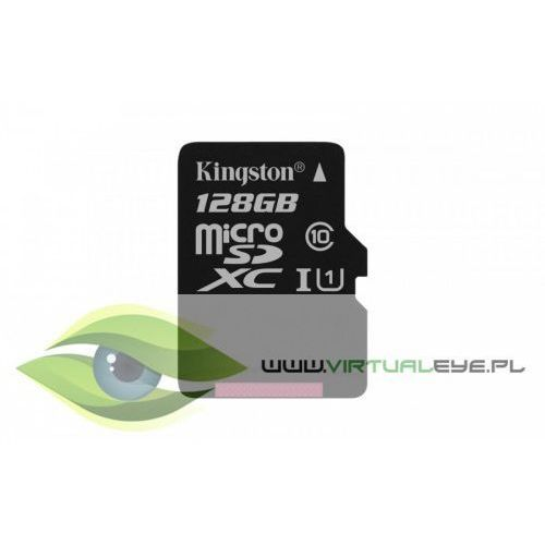 Kingston microSD 128GB Class10 Canvas Select 80/10MB/s, 1_625043