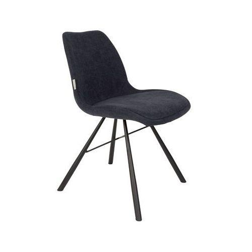 krzesło brent granatowe 1100301 marki Zuiver