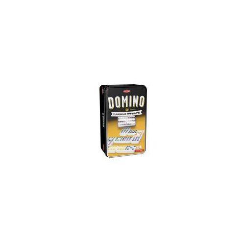 Tactic Domino 12-oczkowe w puszce
