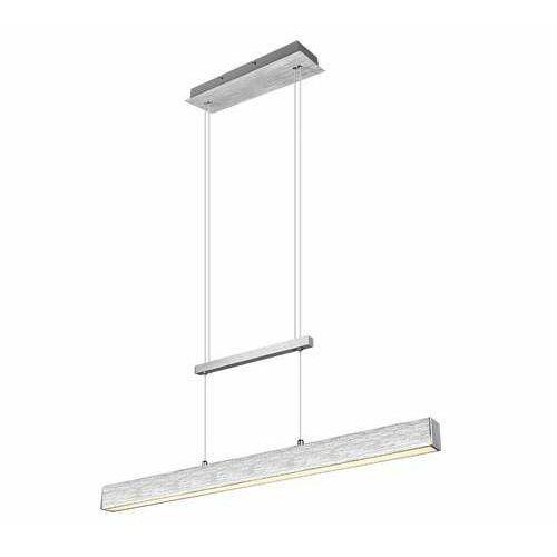 Trio RL Paros R32043105 lampa wisząca zwis 2x21W LED srebrna